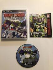 Transformers: Devastation ps3  (Sony PlayStation 3, 2015) Free Fast Shipping