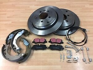 Land Rover Discovery 3 2.7 D / 4.0 Efi Rear Brake Kit Discs / Pads & ShoesFK0420