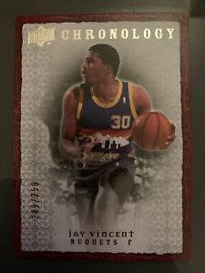 2007-08 Chronology Base Jay Vincent 249/250 #45