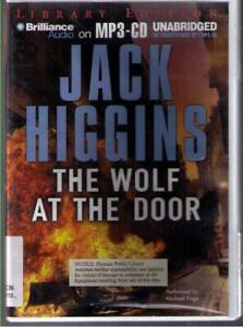 The Wolf at the Door by Jack Higgins (2009) MP3CD Complete & Unabridged !!