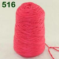 Sale New 1Cone 400g Soft Worsted Cotton Chunky Super Bulky Hand Knitting Yarn 16