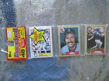 1987 TOPPS RACK PACK RAFAEL PALMEIRO rookie on Top Greg Swindell back CUBS Cards