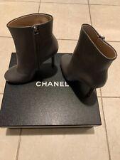 6323e2f6e1f CHANEL Leather Stiletto Boots for Women for sale | eBay