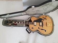 Washburn J-6 6 String Blues/Jazz Semi-Hollow Body With Hard shell Case.