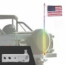 New listing Truck Flag Swirl Led Pole + Hitch Mount - Waterproof, Remote, 60 + Mw-5H1Sc