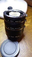 Pentax PKA macro tubes with electrical contacts