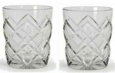 PINEA 2pc WhiskeyTumblers Drinking Glasses 360ml Bar Old Fashioned