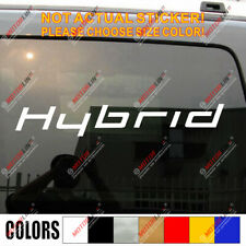 Hybrid Car Vinyl Decal Sticker Fit for Toyota Honda Ford etc