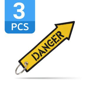 Hoonigan Strap Danger Auto Nuke Drift JDM Fabric Keyring Car Gift 3 PCS/LOT !!!