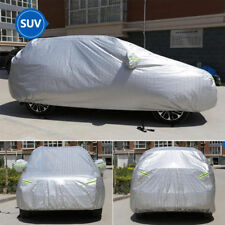 US SUV Full Car Cover Universal Auto Sun Snow Dust Rain Resistant Protection XL