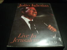 "DVD ""JULIO IGLESIAS - LIVE IN JERUSALEM"""