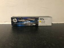 HP Genuine M0J98AE Yellow Ink Cartridge 991X Feb 2020 For 750 772 777 Sealed New
