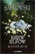 Wiedzmin. Tom 3 Krew elfow, Andrzej Sapkowski, polish book, polska ksiazka