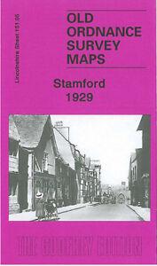Old Ordnance Survey Map Stamford 1929 - Lincolnshire Sheet 151.05