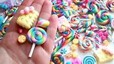 5/10/20/50pc DECODEN sweets Fake candy cabochon set choose amount craft supplies