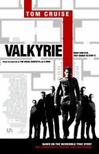 VALKYRIE 27X41 AUTHENTIC DOUBLE SIDED OFFICIAL THEATRE POSTER