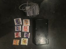 Nintendo 3DS Handheld Console plus 8 games and charger