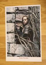 ORIGINAL Autogramm von Tom Wlaschiha. pers. gesammelt. 20x30 FOTO. 100 % Echt.