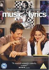 MUSIC AND LYRICS Hugh Grant*Drew Barrymore Romantic Comedy Drama DVD *EXC*
