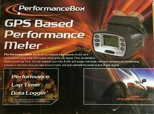 Racelogic PerformanceBox Performance Meter/Lap Timer/Data Logger - No Reserve
