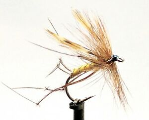 DADDY Long Legs Trout Flies 3 Pack DADDIES Dry Crane Fly Fishing Size 8,10,12