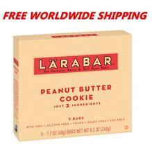 Larabar Peanut Butter Cookie Bars Gluten Free 5 CT 8 Oz FREE WORLD SHIPPING