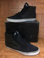 Worn🔥 VANS Rebel8 Mike Giant Sk8-Hi Black White San Francisco Shoes Sz 13 Men's