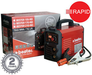 Arc Welder Lincoln Bester 170-ND Inverter Package with Two Year Warranty - 230v