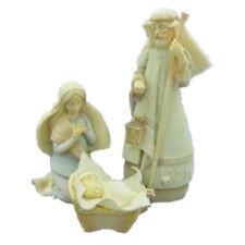 RETIRED FOUNDATIONS KAREN HAHN *Holy Family Set* NATIVITY, NIB