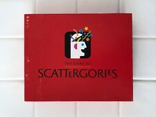 The Game of Scattergories Milton Bradley 1988 Board Game Toy Puzzle Complete