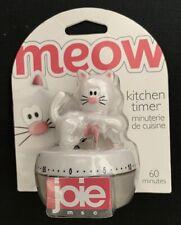 Kitchen Timer Meow Minuterie De Cuisine  60 Minutes Joie msc