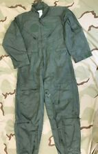CWU 27/P FR COVERALLS FLYERS SUMMER FLIGHT SUIT SAGE DJ MANUFACTURING 44 SHORT