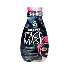 W7 Easy Peel Charcoal Face Mask Skin Care Vitamin E Brand New 10g