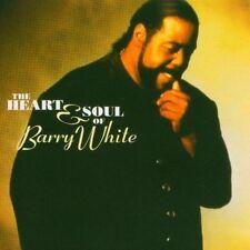 cd Barry White - Heart & Soul of BARRY WHITE 70s pop soul disco funk rnb