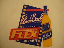 Rare Funkmaster Flex Flashback de france rap hip hop concert tour T Shirt XL