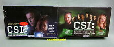 CSI LAS VEGAS, Series 2 & 3 Factory-Sealed Trading Card Hobby Boxes