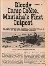 Camp Cooke, The Camp That Never Became a Fort - Montana