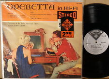 "TELEFUNKEN STEREO SILVER BACK Offenbach Suppe OTTO ""Operetta in Hi-Fi"" TCS-18012"