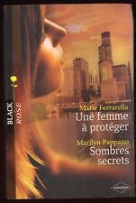 Livre Harlequin..COLLECTION BLACK ROSE..n°34..2 Romans