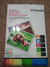 POLAROID PREMIUM PHOTO GLOSS PAPER 20 SHEETS 6 IN X 4 IN ( 48 ib 180 gsm )
