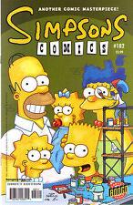 Simpsons Comics 104 Bongo 2005 The Duffman Cometh Boothby Costanza DeCarlo