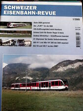 Schweizer Eisenbahn-Revue n°1 2005 - DEU-  Tr.20