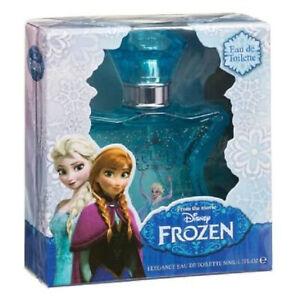 Disney Frozen Anna or Elsa Girls Eau de Toilette Fragrance 50ml - Blue (Elsa)