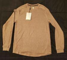 Tb12 Tom Brady Under Armour Recovery Sleepwear Long Sleeve Brown Sz Md Msrp $120