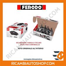 KIT PASTIGLIE FRENO POSTERIORE FERODO FIAT PUNTO (199) 1.4 NATURAL POWER KW:57 2