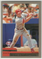 2000 Topps Baseball Philadelphia Phillies Team Set With Traded Cards
