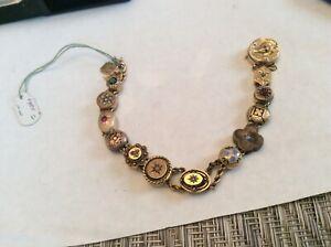 Gold Antique Slide Bracelet