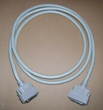 PC computer vintage 50 pin SCSI II - 50 pin SCSI II cable 2 meters long TESTED