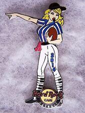 HARD ROCK CAFE DETROIT SEXY BLONDE GIRL FOOTBALL REFEREE PIN # 79995
