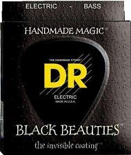 DR Bass Strings Black Beauties Performance Coating BKB-40 40-100 Lite 4 String